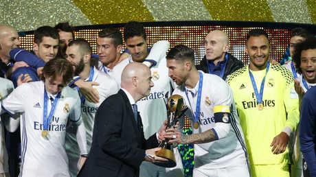 ريال مدريد حامل لقب كأس العالم للأندية الموسم الماضي