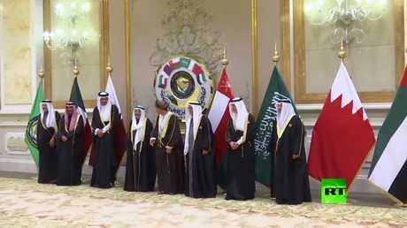 التقاط صورة تذكارية لقادة الدول الخليجية