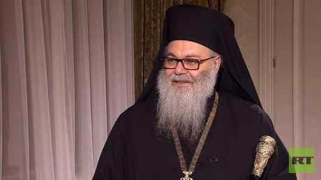 يازجي: بفضل الدعم الروسي حررت مناطق المسيحيين من الإرهاب