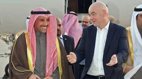إنفانتينو يعلن رسميا رفع الإيقاف عن الكويت