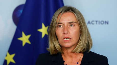 المفوضة العليا للسياسة الخارجية والأمن للاتحاد الأوروبي فيديريكا موغيريني