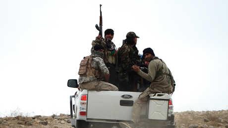 عناصر الجيش الأفغاني