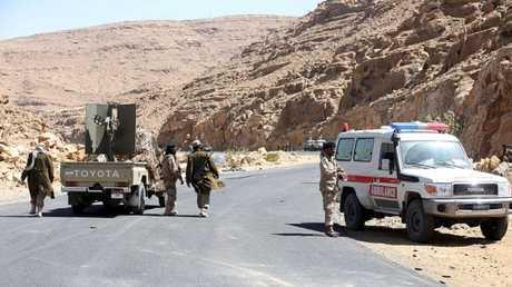 قوات تابعة للجيش اليمني -صورة أرشيفية