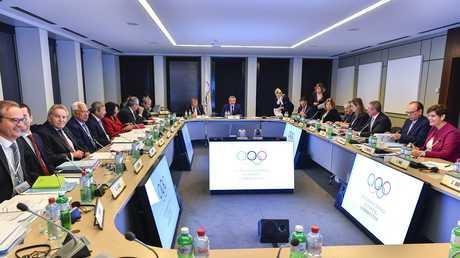 اللجنة الأولمبية الدولية