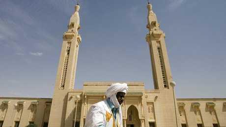 مسجد السعودية في مركز العاصمة الموريتانية نواكشوط - أرشيف