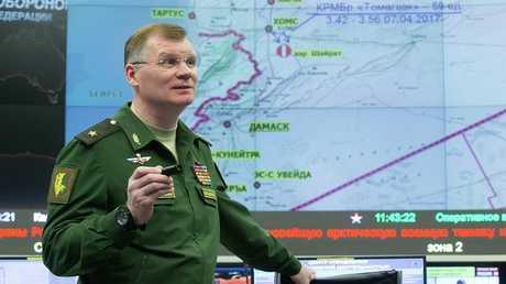 المتحدث الرسمي باسم وزارة الدفاع الروسية