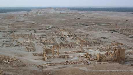 مدينة تدمر الأثرية في سوريا