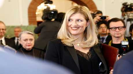 بياتريس فين رئيسة الحملة الدولية لحظر الأسلحة النووية