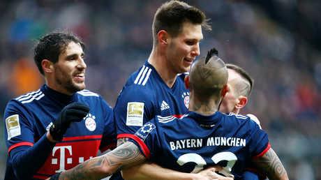 بايرن ميونيخ بطلا للذهاب في الدوري الألماني