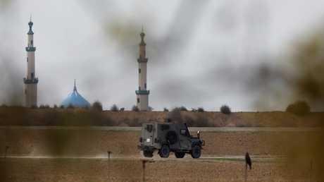 القوات الإسرائيلية على حدود قطاع غزة