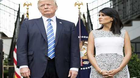 ترامب ونيكي هايلي