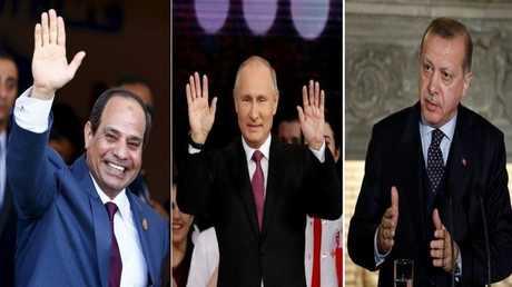 بوتين يجمع بين القاهرة وأنقرة