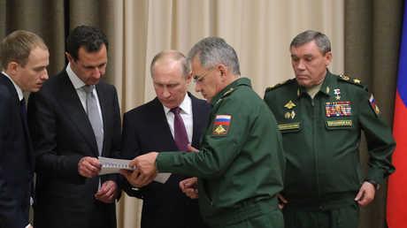 بوتين يجتمع مع الأسد وشويغو في سوتشي - 21.11.17