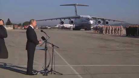بوتين يأمر ببدء سحب قوات روسية من سوريا