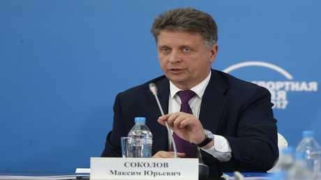 وزير النقل الروسي، مكسيم سوكولوف