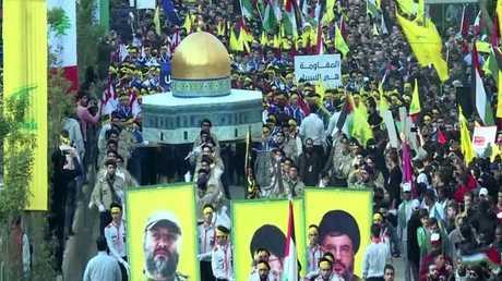 نصر الله يدعو لانتفاضة تنهي إسرائيل
