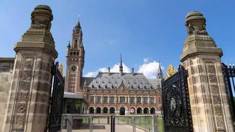 مبنى محكمة الجنايات الدولية في لاهاي