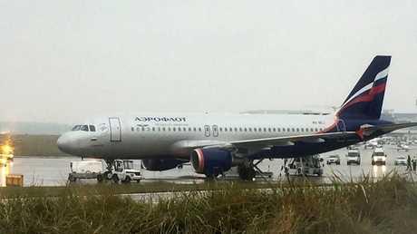 طائرة تابعة لشركة أيروفلوت الروسية - أرشيف