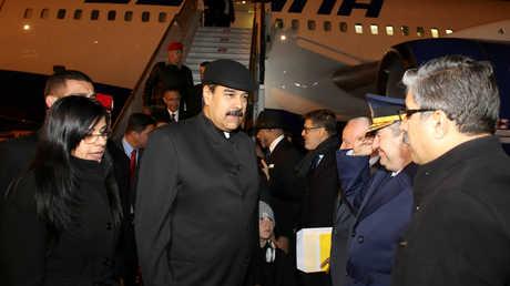 """نيكولاس مادورو يصل إسطنبول للمشاركة في """"قمة القدس"""""""