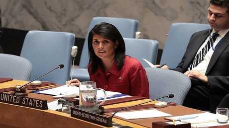سفيرة أمريكا لدى الأمم المتحدة، نيكي هايلي