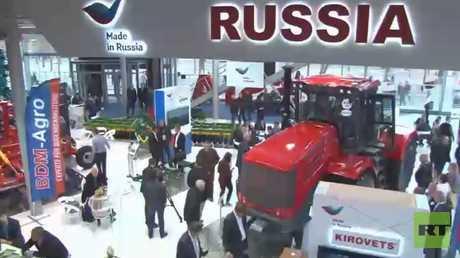 روسيا تعرض منتجاتها وتقنياتها الصناعية