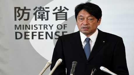 إتسونوري أونوديرا وزير الدفاع الياباني