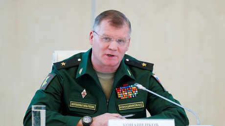 المتحدث باسم وزارة الدفاع الروسية إيغور كوناشينكوف