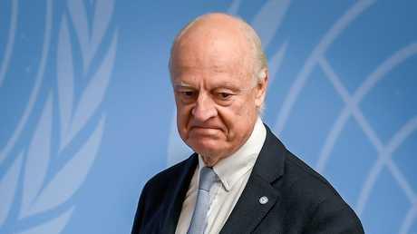 المبعوث الأممي الخاص إلى سوريا، ستيفان دي ميستورا