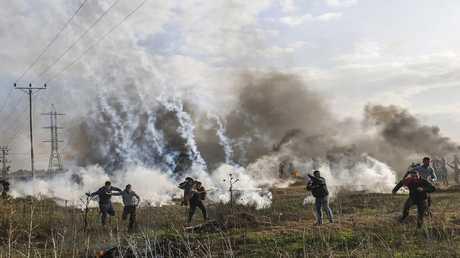 الصحة الفلسطينية تطالب بالكشف عن الغازات التي استخدمتها إسرائيل ضد المحتجين