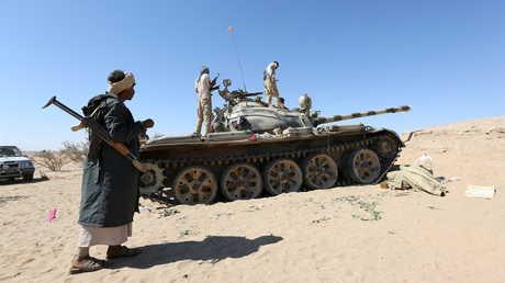 عناصر القوات الموالية لهادي