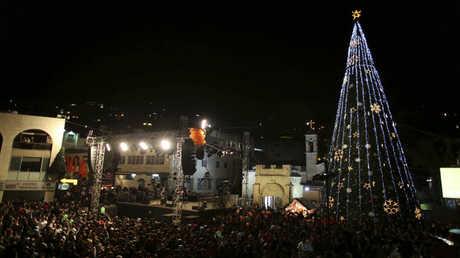 احتفالات عيد الميلاد في مدينة الناصرة - أرشيف