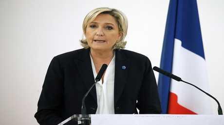 """أرشيف - زعيمة حزب """"الجبهة الوطنية"""" الفرنسي مارين لوبان"""