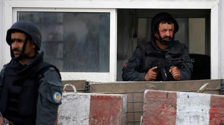 حاجز أمني في أفغانستان