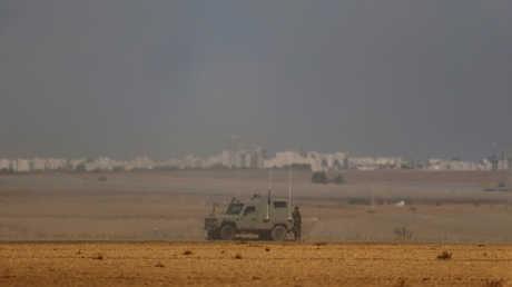 منطقة في جنوب إسرائيل سقط عليها صاروخ من قطاع غزة (أرشيف)