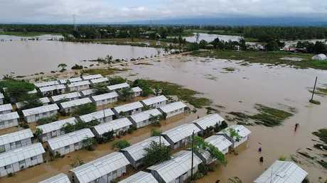 منظر جوي للمناطق التي غمرتها الفيضانات في الفلبين، 17 ديسمبر 2017