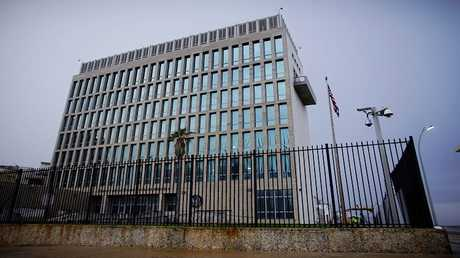السفارة الأمريكية في هافانا، كوبا، 24 أكتوبر 2017