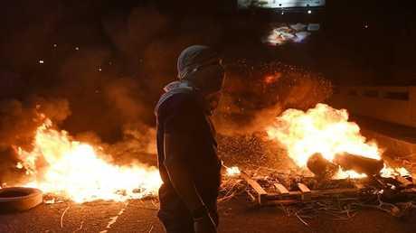 احتجاجات أنصار المعارضة في هندوراس