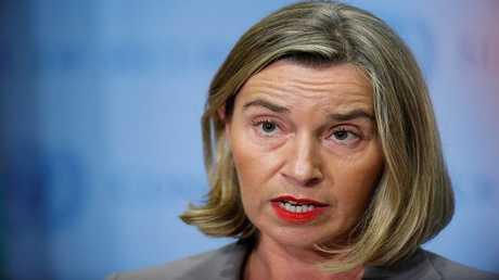 الممثلة العليا للأمن والسياسة الخارجية في الاتحاد الأوروبي فيديريكا موغيريني