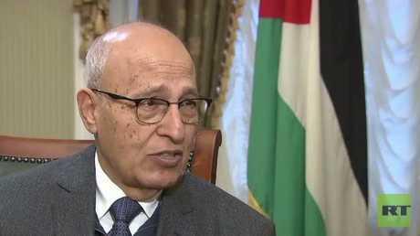 مستشار الرئيس الفلسطيني نبيل شعث