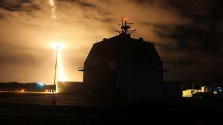 أرشيف  - مجمع اختبار منظومة الدفاع الصاروخي آجيس آشور في هاواي، الولايات المتحدة 10 ديسمبر 2015