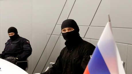 عناصر من جهاز الأمن الفدرالي الروسي