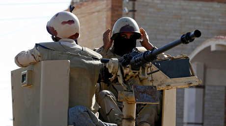 عناصر من قوات الأمن المصرية شمال سيناء