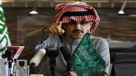 الأمير السعودي ورجل الأعمال الثري الوليد بن طلال