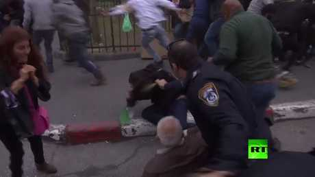 الجيش الإسرائيلي يفرق احتجاجات في بيت لحم بالقوة