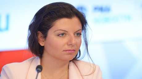 رئيسة تحرير شبكة قنوات RT  مارغاريتا سيمونيان