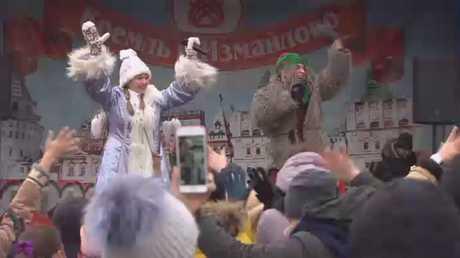 موسكو: نشاطات مبكرة للميلاد ورأس السنة