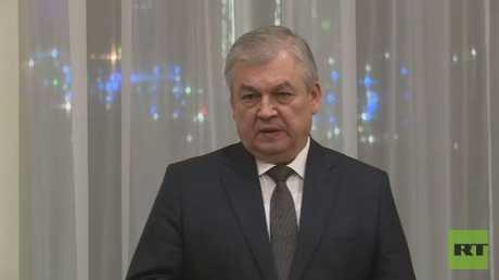 ألكسندر لافرينتيف مبعوث الرئيس الروسي إلى سوريا