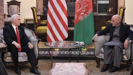 بينس في أفغانستان