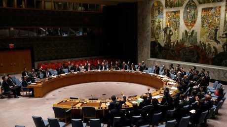 صورة أرشيفية لإحدى جلسات مجلس الأمن الدولي