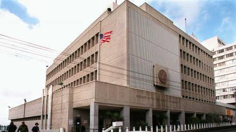 السفارة الأمريكية في إسرائيل.. صورة أرشيفية